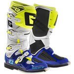 _Gaerne SG12 Limited Edition Boots White/Blue/Yellow Fluor | 2174-050 | Greenland MX_