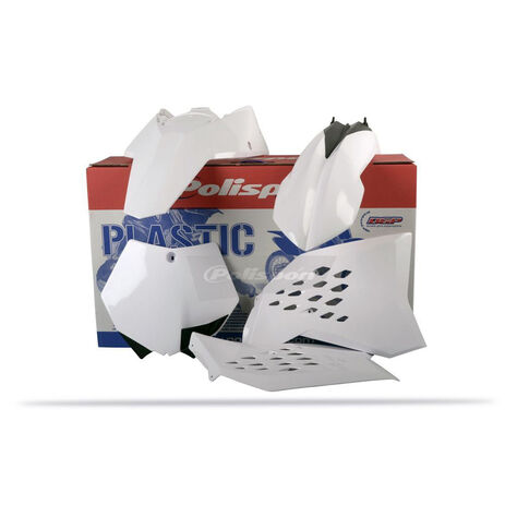 _Polisport KTM SX 07-10 SXF 07-10 EXC 08-11 EXCF 08-11 Plastic Kit White | 90128 | Greenland MX_