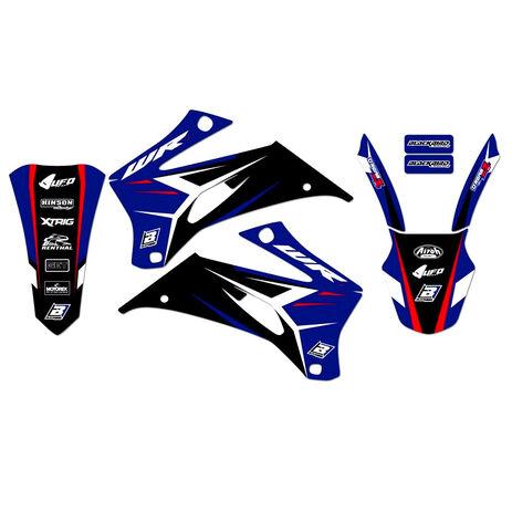 _Blackbird Dream 4 Yamaha WR 250 F 07-14 WR 450 F 07-11 Kit Decal | 2234N | Greenland MX_