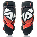 _Acerbis Soft Knee Guards Adult 3.0 Black/Red | 0022778.323 | Greenland MX_