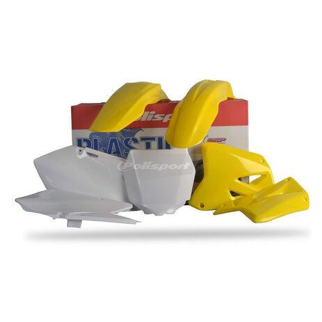 _Polisport Suzuki RM 125/250 01-08 Plastic Kit   90095   Greenland MX_