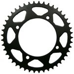 _JT Steel Rear Sprocket Yamaha YFM 350 04-13 YFZ 450 04-13 YFM 700 R 06-19 Black | JTR-1857 | Greenland MX_