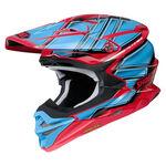 _Shoei Helmet VFX-WR Glaive TC-1 | VFXWRGTC10 | Greenland MX_