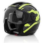 _Acerbis X-Jet On Bike Helmet 2016 Black/Yellow | 0021662.318.00P | Greenland MX_