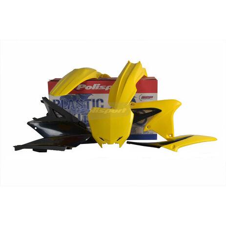 _Polisport Suzuki RMZ 450 08-17 Plastic Kit   90726   Greenland MX_