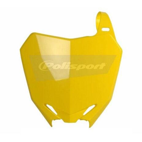 _Polisport Suzuki RMZ 250 10-15 RMZ 450 08-15 Front Plate Yellow   8659300001   Greenland MX_