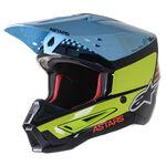 _Alpinestars S-M5 Speed Helmet White/Blue/Red | 8304822-1577 | Greenland MX_
