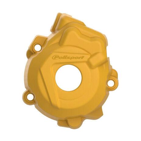 _KTM SX-F 250 13-15 SX-F 350 12-15 Husqvarna FC 250/350 14-15 Ignition Cover Protector Polisport Yellow | 8461500004 | Greenland MX_