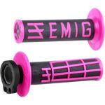 _ODI MX Lock On V2 Emig 4ST Grips Black/Pink | H34EMBP | Greenland MX_
