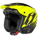 _Helmet Trial Jitsie HT2 Airtime Fluo Yellow/Black | JI14HT2-5545 | Greenland MX_