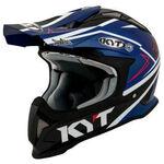 _KYT Strike Eagle Simpson Replica Helmet Blue | KYT-YSEA0019 | Greenland MX_