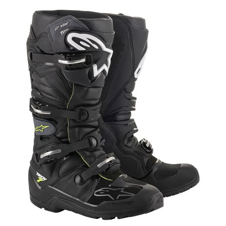 _Alpinestars Tech 7 Enduro Drystar Boots Black/Grey   2012620-106-P   Greenland MX_