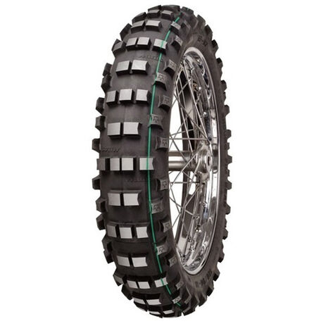 _Mitas Super Light Extreme FIM 140/80/18 Tire Green Stripe | 26274 | Greenland MX_