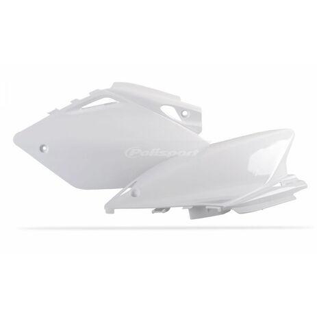 _Polisport Honda CRF 450 R 05-06 Number Carrier Side Panels Kit White   8602600001   Greenland MX_