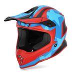 _Acerbis Steel Junior Helmet Red/Blue | 0023425.344 | Greenland MX_
