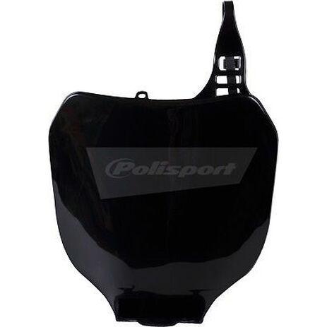 _Polisport Yamaha YZ 125/250 00-04 YZ 250 F 01-04 YZ 450 F 03-04 Front Plate Black | 8658000002 | Greenland MX_