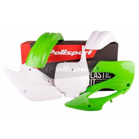 _Polisport Kawasaki KX 85 01-13 Plastic Kit Original Replic   90541   Greenland MX_