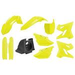_Polisport MX Restyling Yamaha YZ 125/250 02-14 to 15-18 Plastic Kit Yellow Fluo | 90745 | Greenland MX_
