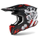 _Airoh Twist 2.0 Hell Helmet Black/Red/White   TW2H55   Greenland MX_
