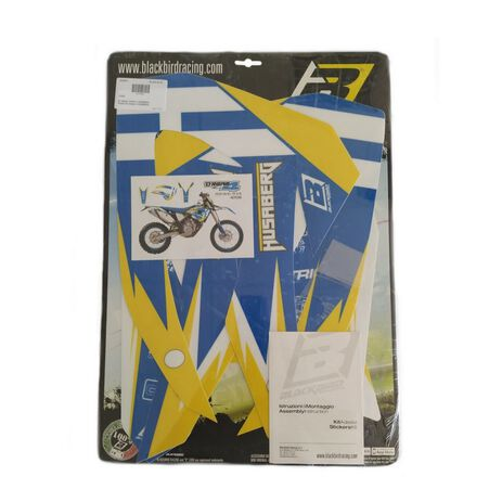 _Blackbird Graphic Kit Dream 4 Husaberg TE 11-12 FE/FS 09-12 | 2703N | Greenland MX_