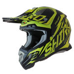 _Shiro MX-917 Thunder Helmet Yellow Fluor   977-04   Greenland MX_
