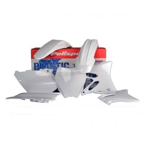 _Polisport Yamaha YZ 125/250 15-17 Plastic Kit White   90648   Greenland MX_