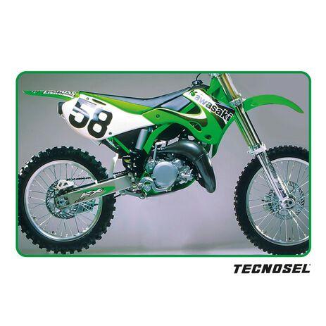 _ Tecnosel Seat Cover Replica OEM Kawasaki 2000 KX 125/250 99-02 | 14V03 | Greenland MX_