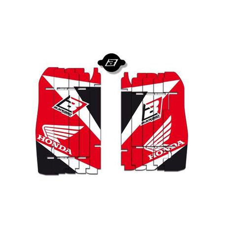 _Kit decal rad louver blackbird Honda CRF 250 R 10-13 CRF 450 R 09-12 | A101E | Greenland MX_