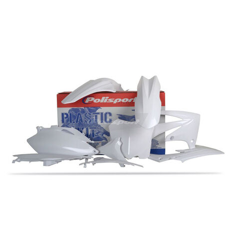 _Polisport  CRF 250 2010 CRF 450 09-10 plastic kit white | 90211 | Greenland MX_