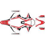 _Honda CRF 250/300/450/500 X 17-18 Full Sticker Kit   SK-CRFX1718RDWTBK-P   Greenland MX_