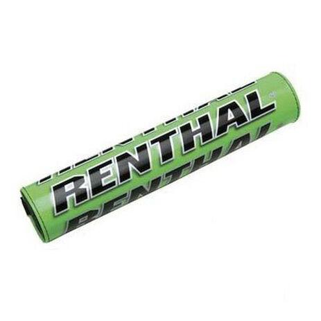 _Renthal square handlebar pad green | P211 | Greenland MX_