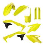 _Polisport Kawasaki KX 450 F 16-18 Plastic Kit Full Yellow Fluor | 90744 | Greenland MX_