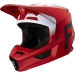 _Fox V1 Werd Helmet Flame Red | 25473-122 | Greenland MX_