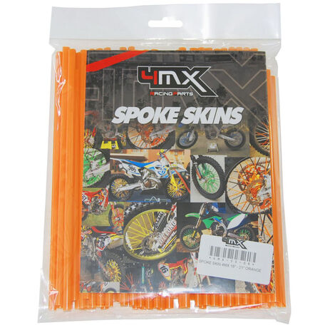 _4MX Spoke Skin Set Orange | 4MX-SS-OR | Greenland MX_