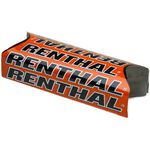 _Renthal Fat Bar Team Issue Square Handlebar Pad Orange | P276-P | Greenland MX_