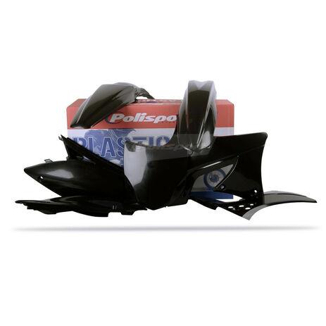 _Polisport Kawasaki KX 250 F 09-12 Plastic Kit Black | 90216 | Greenland MX_