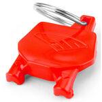 _Cycra Racing Stadium Number Plate Keyholder Red | 29500024 | Greenland MX_