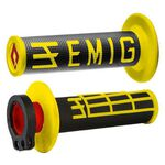 _ODI MX Lock On V2 Emig 2/4 ST Grips Black/Yellow | H36EMBY-P | Greenland MX_