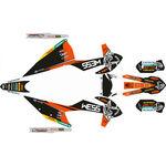 _KTM EXC/EXC-F 2020 Full Sticker Kit WESS   SK-KTEXC20WSORBK-P   Greenland MX_