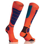 _Acerbis MX Impact Youth Socks Orange Fluor/Blue | 0021909.204 | Greenland MX_