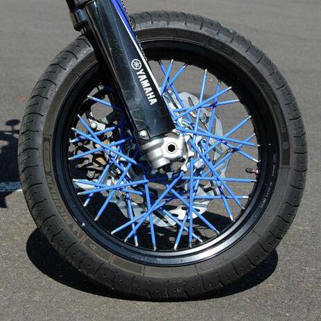 _4MX Spoke Skin Set Blue | 4MX-SS-BL | Greenland MX_