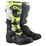 _Alpinestars Tech 3 Boots Black/Gray/ Yelloww   2013018-1055   Greenland MX_