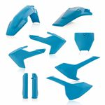 _Acerbis Husqvarna TC 250 17-18 FC 16-18 Plastic Kit Full Blue | 0021831.041-P | Greenland MX_
