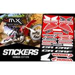 _4MX Assorted Stickers Honda | 01KITA606H | Greenland MX_