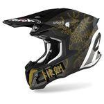_Airoh Twist 2.0 Sword Helmet Gray/Gold   TW2S35   Greenland MX_
