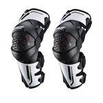 _Leatt Z-Frame Knee Guards White | LB5022121910-P | Greenland MX_