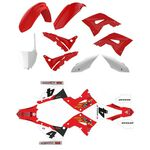 _Polisport Restyling Plastic Kit + Full Sticker Kit Honda CR 125/250 02-07 | KIT-PAPR-1 | Greenland MX_