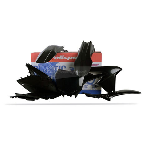 _Polisport Suzuki RMZ 450 08-17 Plastic Kit Black | 90146 | Greenland MX_