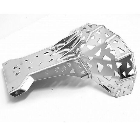 _P-Tech P-Tech Skid Plate with Exhaust Pipe Guard KTM EXC 250/300 07-16 HVA TE 250/300 14-16 | PK001 | Greenland MX_