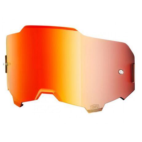 _100% Armega Mirror Lens | 51040-003 | Greenland MX_